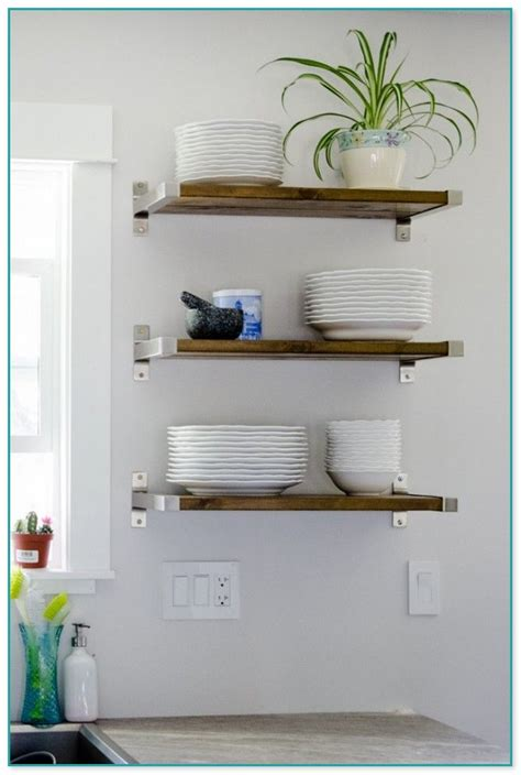 ideas  floating shelves  living room