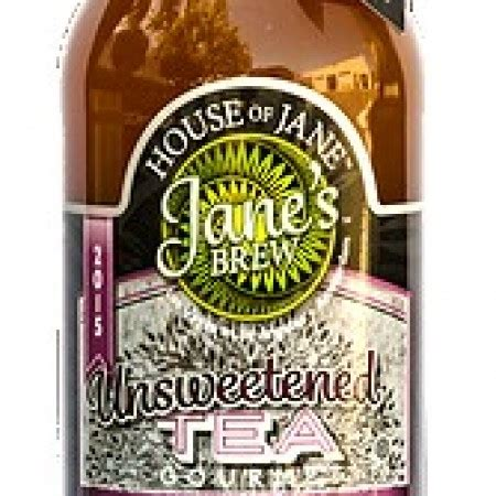 house of brews ta bottled gourmet tea unsweetened tea refresh beverage house of jane jane s brew