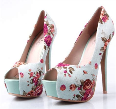 flower print high heels 15 pretty floral pastel shoes for and summer be
