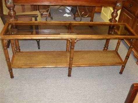 beautiful faux bamboo sofa table console table 175