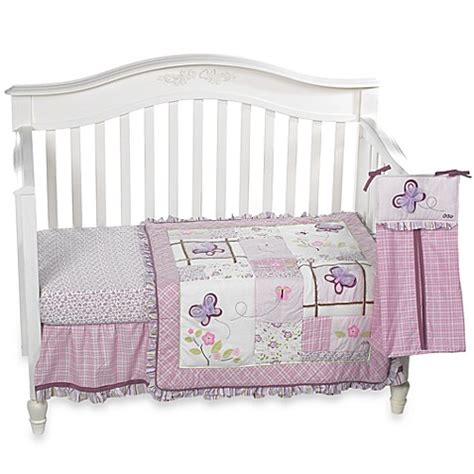 cocalo bedding cocalo sugar plum 8 piece crib bedding and accessories