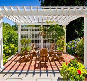 Pergola Designs With Covers by Pergola And Patio Covers Freestanding But Protected