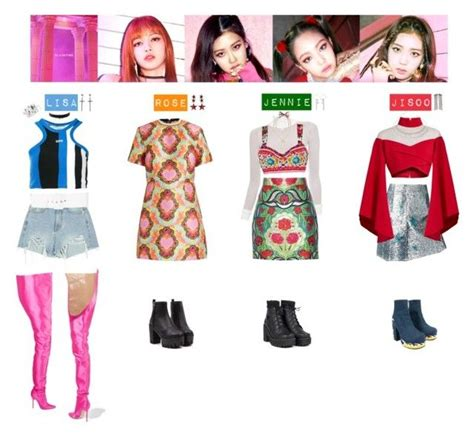 blackpink unif black pink as if its your last unif balmain and