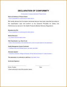 certificate of conformance template free army certificate of template for conformance