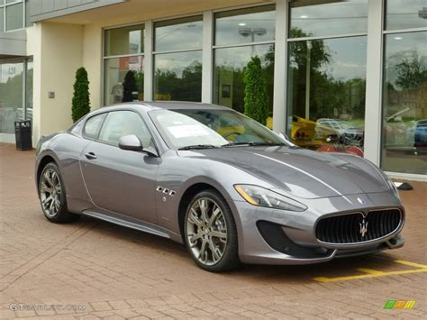 Grigio Alfieri Grey 2013 Maserati Granturismo Sport