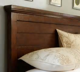 Wood And Upholstered Headboard Headboard Dresser Set Pottery Barn