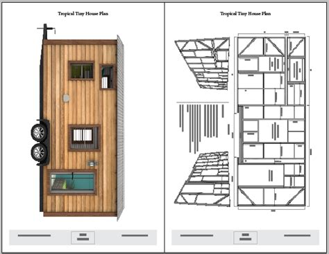 Tiny Plans Tropical Tiny House Plans The Tiny Tack House