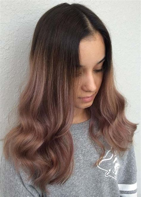 chocolate colored hair 20 pretty chocolate mauve hair colors ideas to inspire