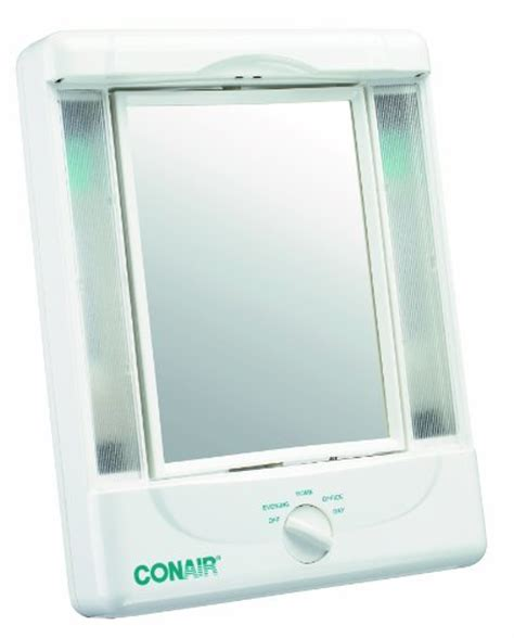 Conair Reflections Home Vanity Collection by Conair Illumina Collection Two Sided Makeup Mirror With 4