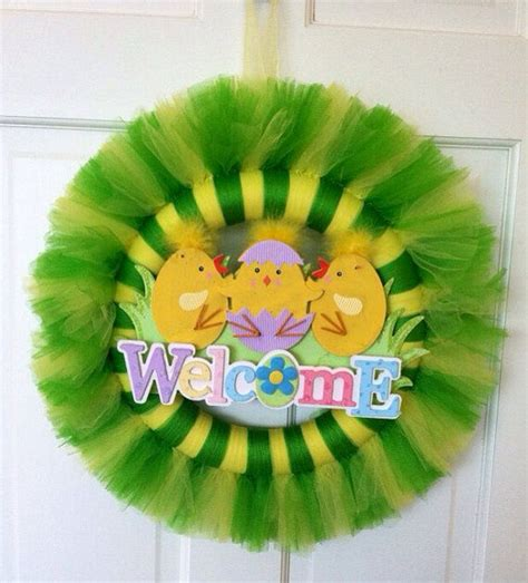 tulle craft projects easter tulle wreath tulle wreath by