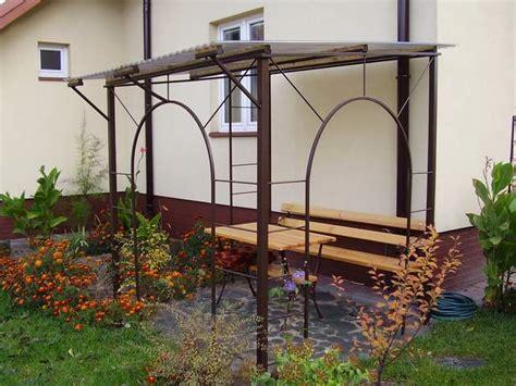 pavillon vordach gartenmoebel bartczak gelaender