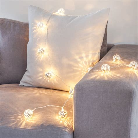 wand lichterkette tangier lights by lights4fun notonthehighstreet