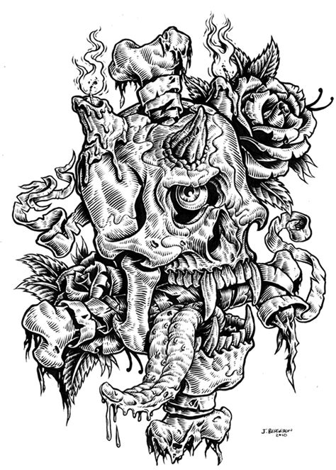 ink drawings on behance