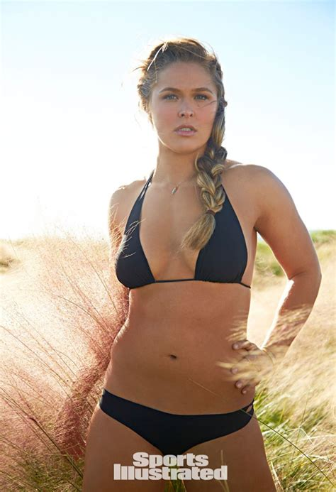 ronda rousey sports illustrated swimsuit issue ufc ch ronda rousey in 2015 sports illustrated