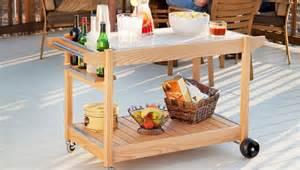 patio cart serving cart