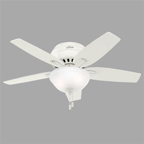 hunter ceiling fan light size hunter low profile ceiling fan light kit www