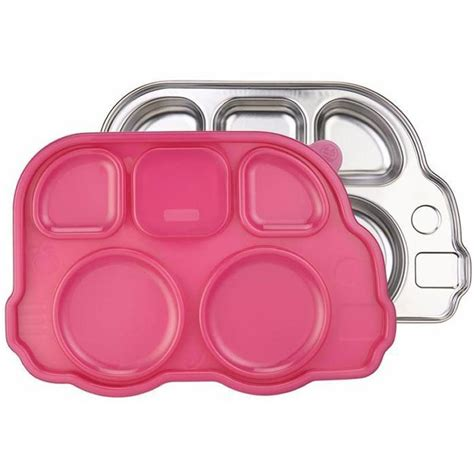 Inno Baby Din Din Smart Stainless Divided Plate innobaby din din smart stainless divided platter with