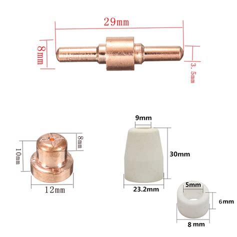 Mesin Plasma Cutting Rilon Cut 40 Cut40 75pcs plasma cutter cutting torch tips electrodes for lg 40 pt 31 cut40 cut50 ebay