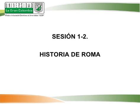 historia de roma ensayo historia 8497593154 derecho romano clase 2 3