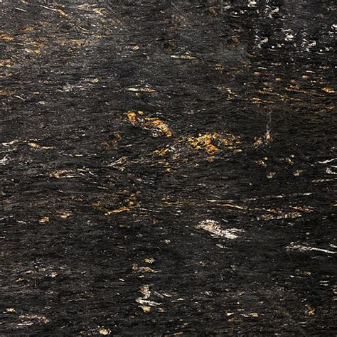 Black Cosmic Granite Countertops by Black Granite Colors