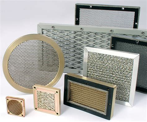 tech etch plymouth emi shielded vents and filters