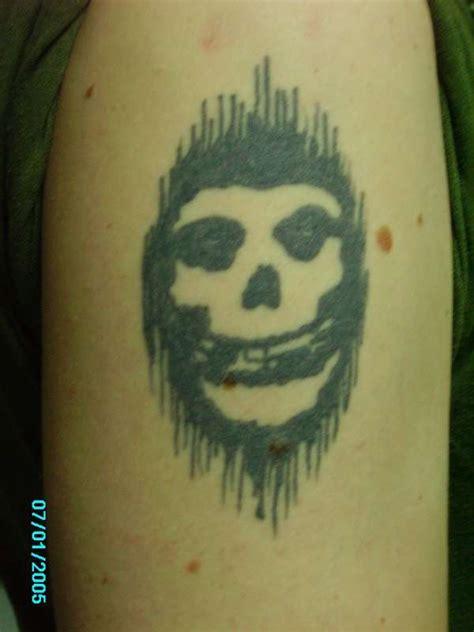 misfits tattoo designs misfits skull pictures to pin on tattooskid