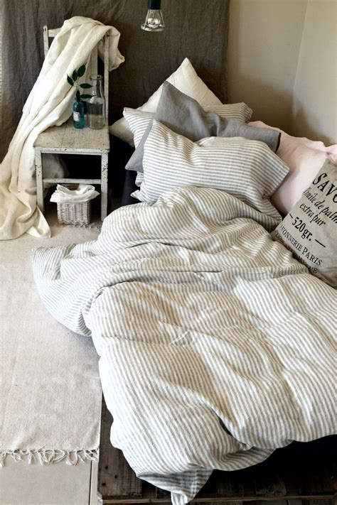 gray and white striped comforter pinstriped linen duvet cover gray and white stripes