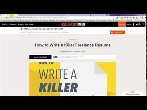 How To List Freelance Work On Resume by How To List Freelance Work On Resume