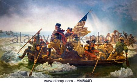 boat canvas delaware painting of washington crossing the delaware by leutze