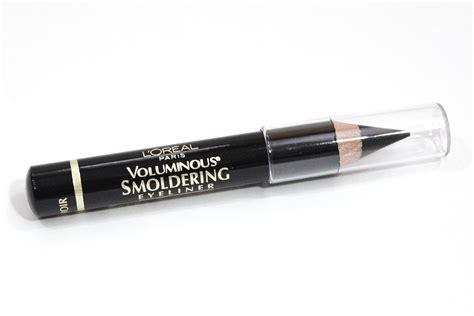 Eyeliner Loreal l oreal voluminous smoldering eyeliner in black review