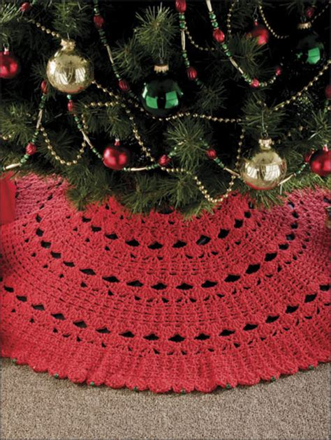 crochet christmas tree skirt patterns 7 hour tree skirt