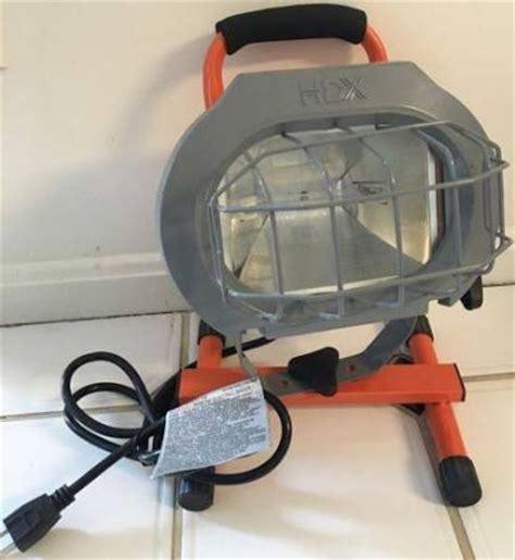 Hdx 500 Watt Halogen Portable Work Light Home