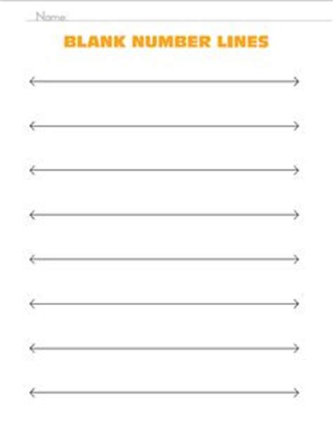 printable place value number line blank number line print out number lines place value