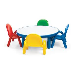 angeles ab74920p baseline 174 preschool table and chair