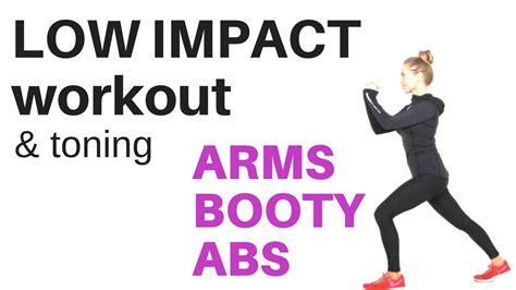 low impact exercise home workout tone your arms sculpt your lower and shape your abs