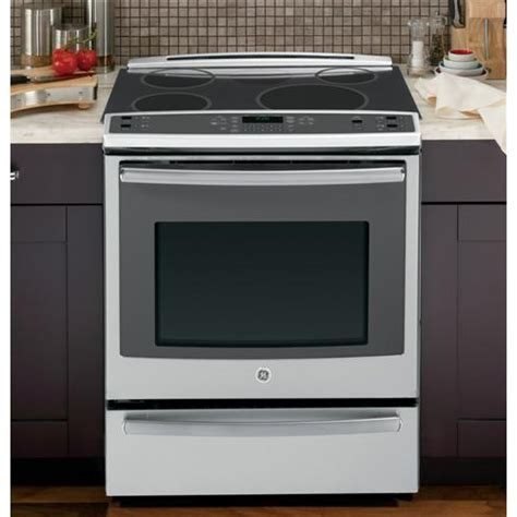 Ge Profile Microwave Drawer by General Electric Phs920sfss Slide In Electric Range