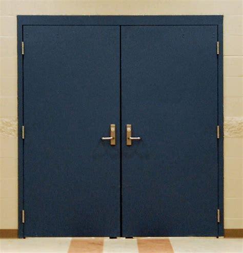 Steel Exterior Security Doors Steel Personnel Security Doors Cetra Security