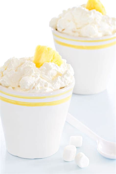 Cottage Cheese Fluff by Pineapple Fluff Baking Addiction