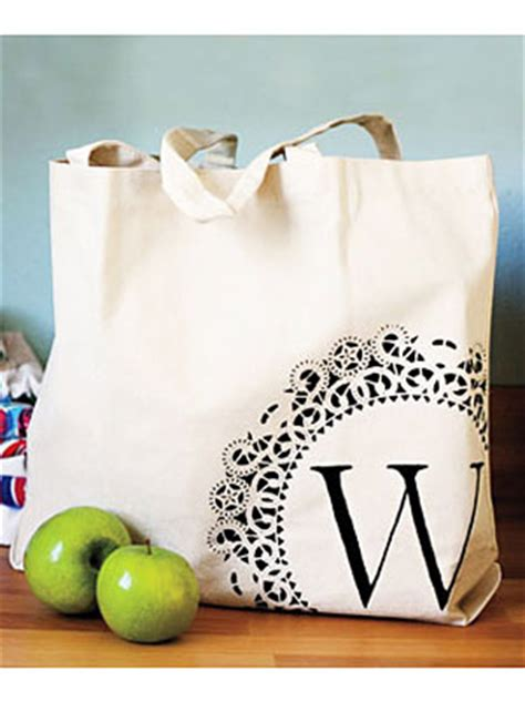 craft ideas      personalized tote bag