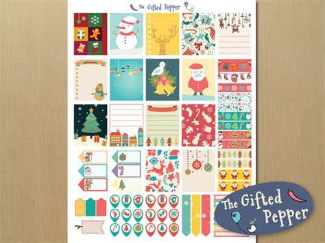 printable stickers for erin condren planner printable erin condren planner sticker kit for december