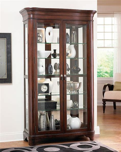 glass cabinets for living room 17 best images about curio cabinets on pinterest side
