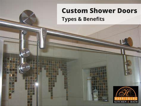 custom shower doors custom shower doors types and benefits