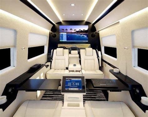 Mercedes Sprinter Custom Interior by Custom Sprinter Interior Limousine