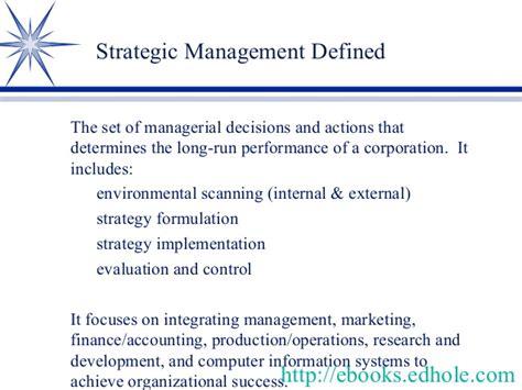 Strategic Management Books For Mba Free by Mba Ebooks Edhole