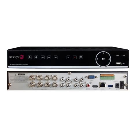 dvr 8 ingressi 4838806 dvr ibrido 8 ingressi analogico proeye