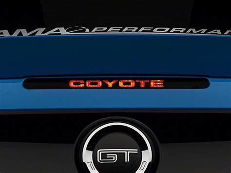 mustang 3rd brake light decal american muscle graphics mustang coyote third brake light