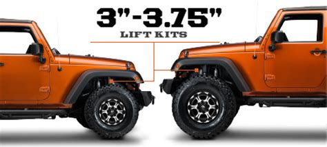 3 Inch Lift Kit For Jeep Wrangler Jeep Jk Lift Kits 2007 2016 Wrangler Free Shipping