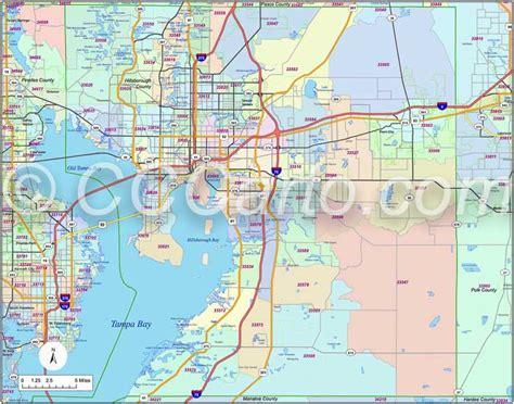 zip code map ta hillsborough county ta zip code boundary map hillsborough county zip