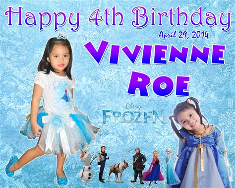 frozen wallpaper for tarpaulin frozen tarpaulin 7th birhtday pictures to pin on pinterest