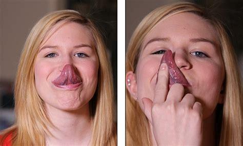 sedere piu bello al mondo la ragazza con la lingua pi 249 lunga mondo 10 centimetri